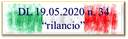 """27/05/2020 - Dl. """"Rilancio"""": la ripartizione dei trasferimenti cash, che arriveranno a giorni, in conto anticipazione sulle risorse del """"Fondo per le funzioni fondamentali degli Enti locali"""""""