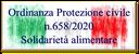 31/03/2020 - Emergenza Coronavirus COVID-19: Ordinanza con 400 milioni per distribuire aiuti alimentari