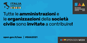 14/05/2021 - Partecipa alla Settimana dell'Amministrazione aperta (17-21 maggio 2021)